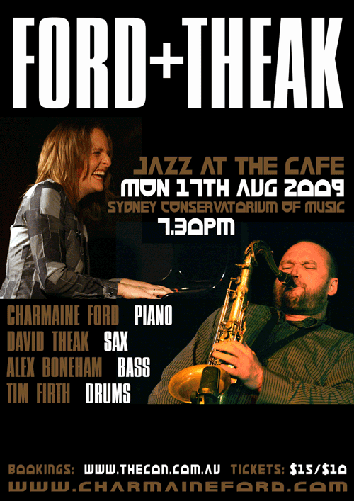 Ford + Theak Poster - 17th Aug 2009